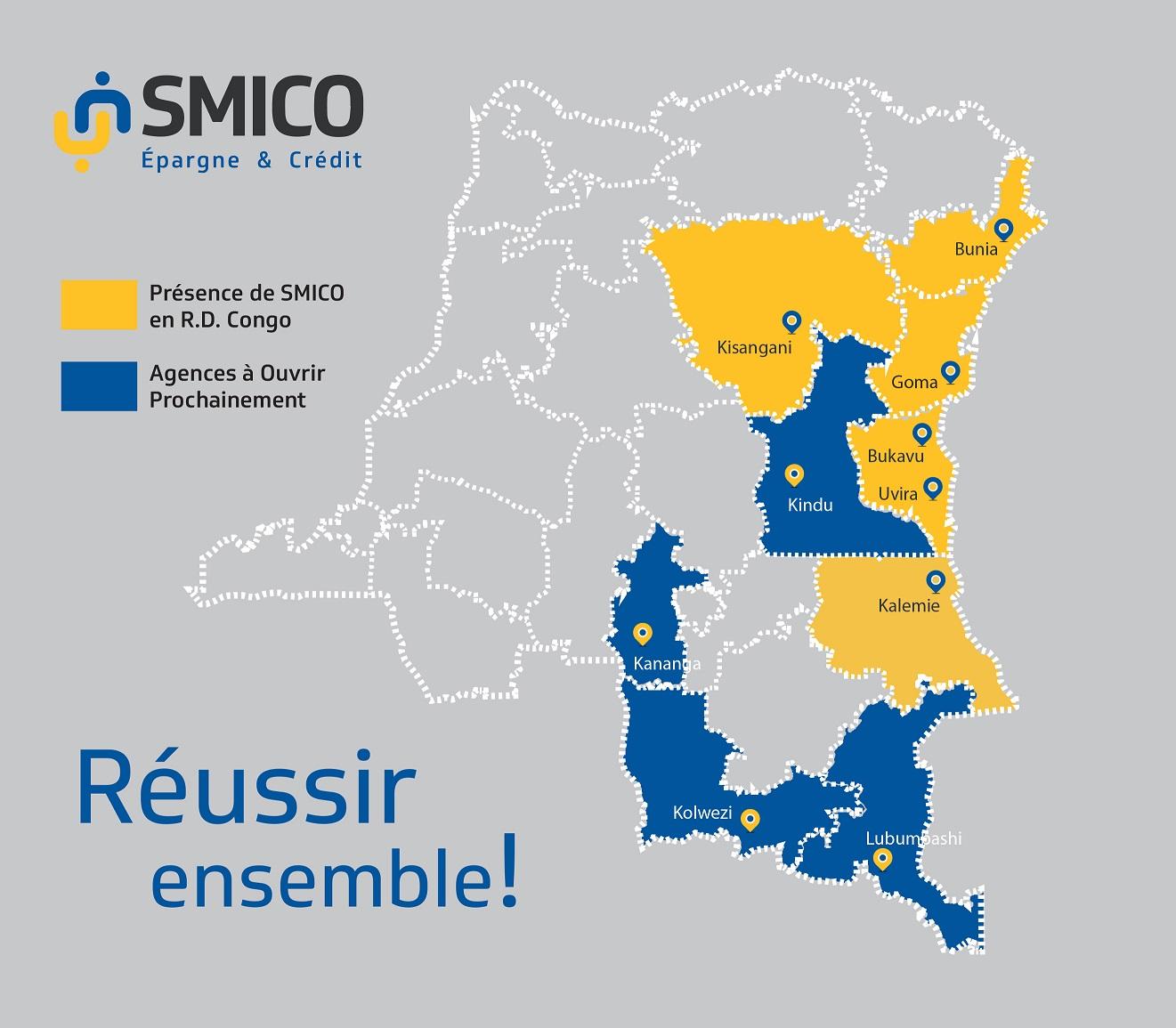 Carte RDC SMICO