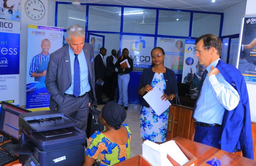 Visite des Administrateurs à l'agence de BUNIA
