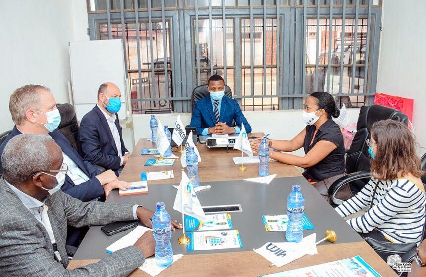 Visite d'une délégation belge dans notre agence de KISANGANI